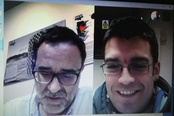 Guillem Lacoma y Iker Martínez